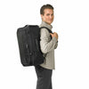 Briggs & Riley Baseline Convertible Duffle-Backpack in Black on model