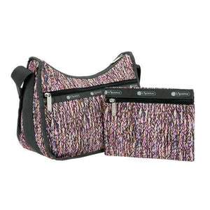LeSportsac Women's Classic Hobo Bag in Sprinkle Texture with pouch