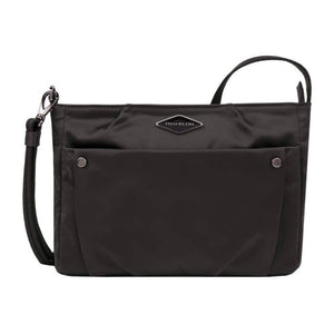 Travelon Anti-Theft Parkview Small Crossbody in colour Black - Forero's Bags and Luggage Vancouver Richmond