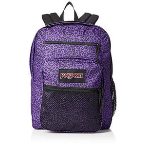 JanSport Big Campus Backpack in Purple Leopard Life - Forero's Vancouver Richmond