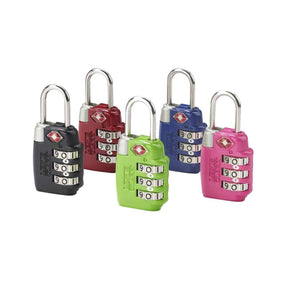 Lewis N Clark Accessories TSA Approved Combination Lock - Forero's Bags and Luggage Vancouver Richmond