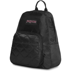 JanSport Half Pint FX Backpack in Black Satin Diamond - Forero's Vancouver Richmond