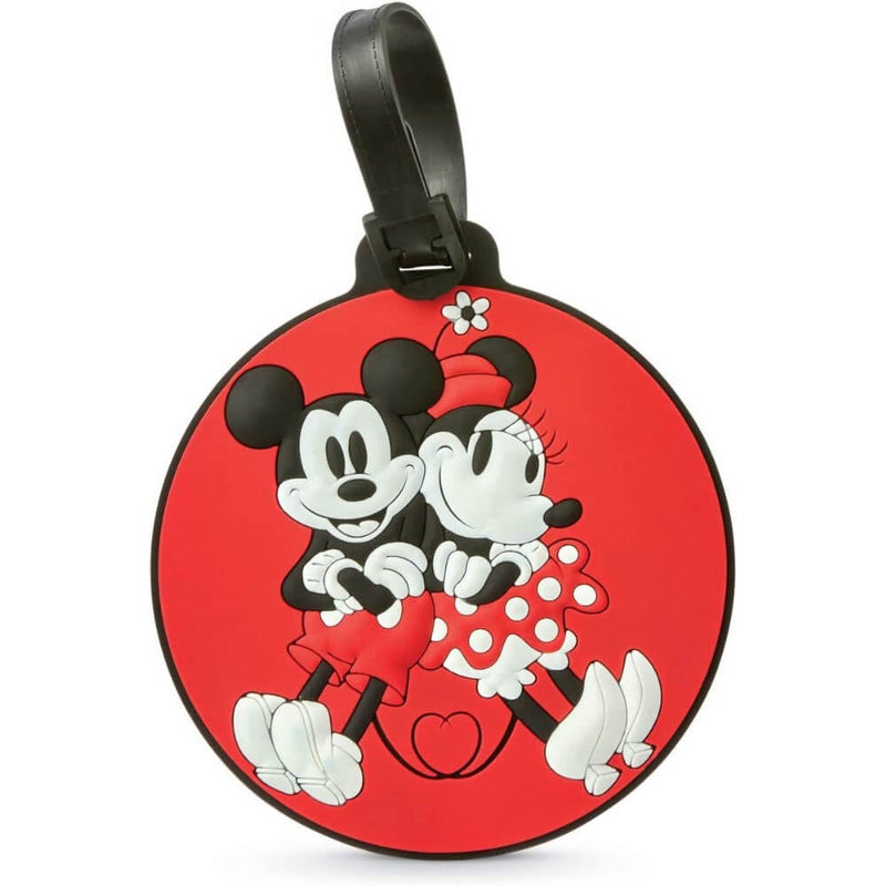 Disney Luggage ID Tag - Heritage Mickey/Minnie - Forero's Bags and Luggage