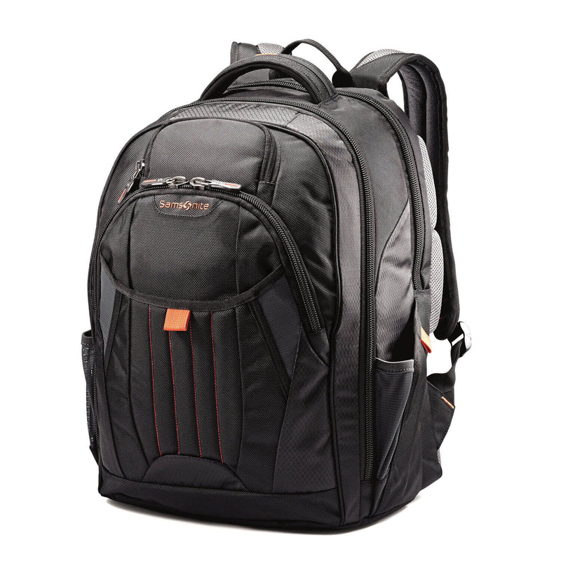 "Samsonite Tectonic 2 Large Backpack 17"" in Black front view"