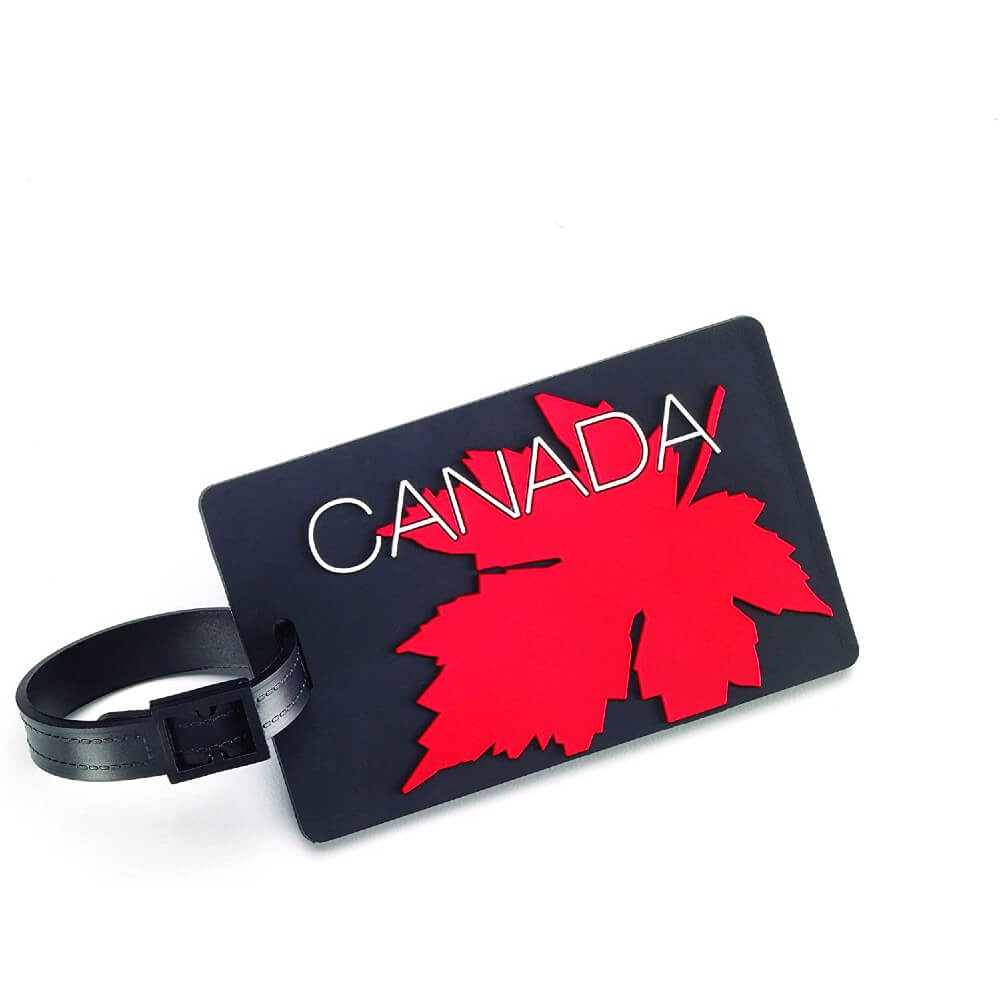 Luggage ID Tag - Maple Leaf - Forero's Bags and Luggage