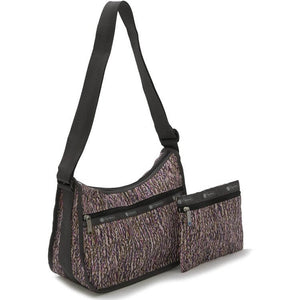 LeSportsac Women's Classic Hobo Bag in Sprinkle Texture side view