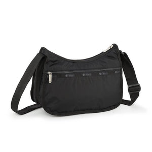 LeSportsac Women's Classic Hobo Bag in Black rear view
