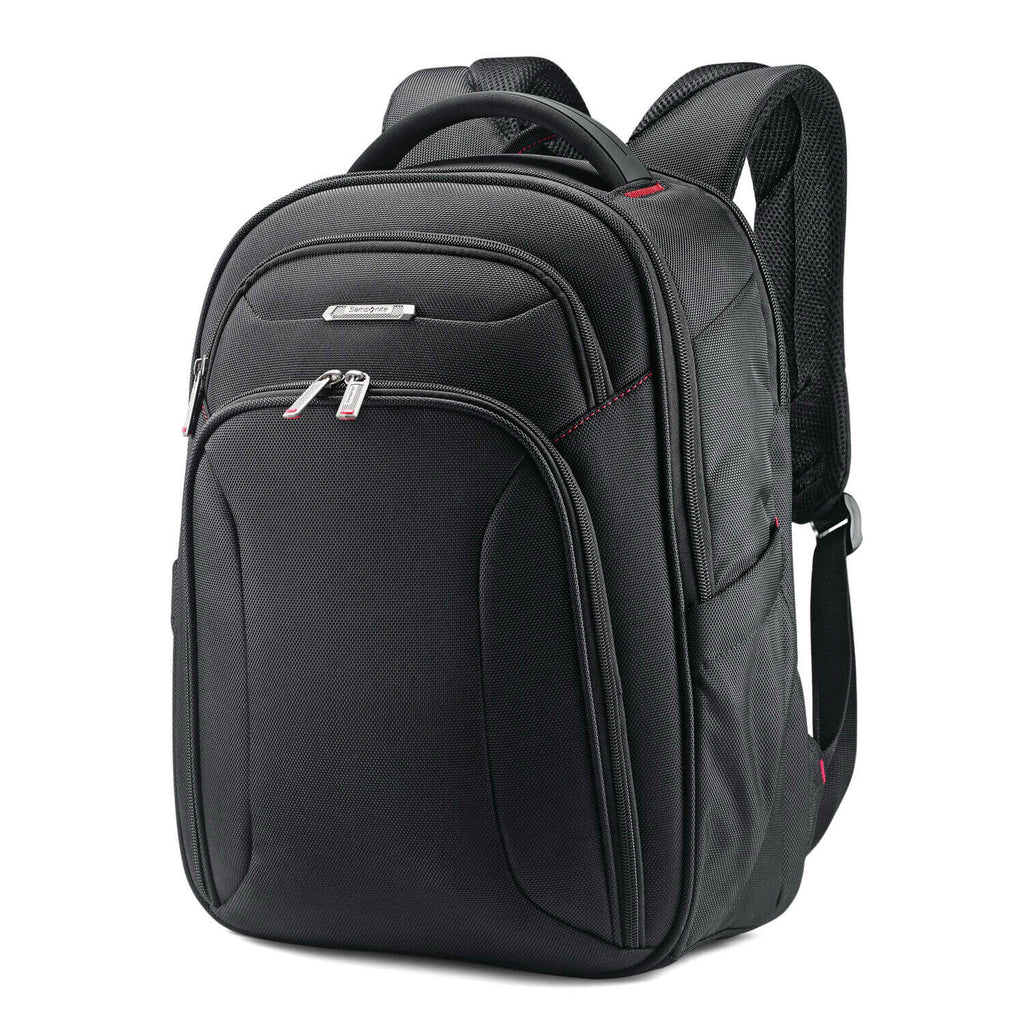 "Samsonite Xenon 3.0 Slim Backpack (15.6"") in Black front view"