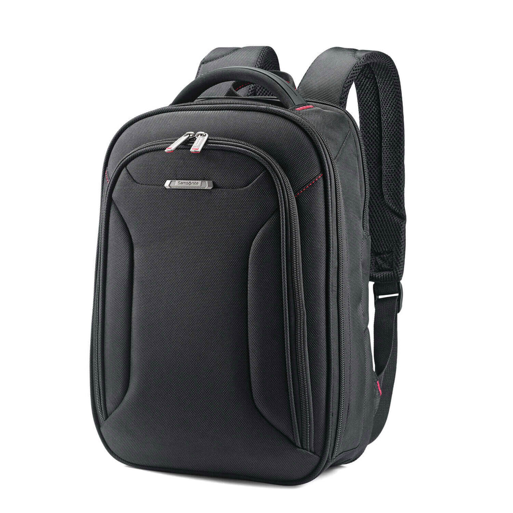 "Samsonite Xenon 3.0 Small Backpack (13.3"") in Black front view"