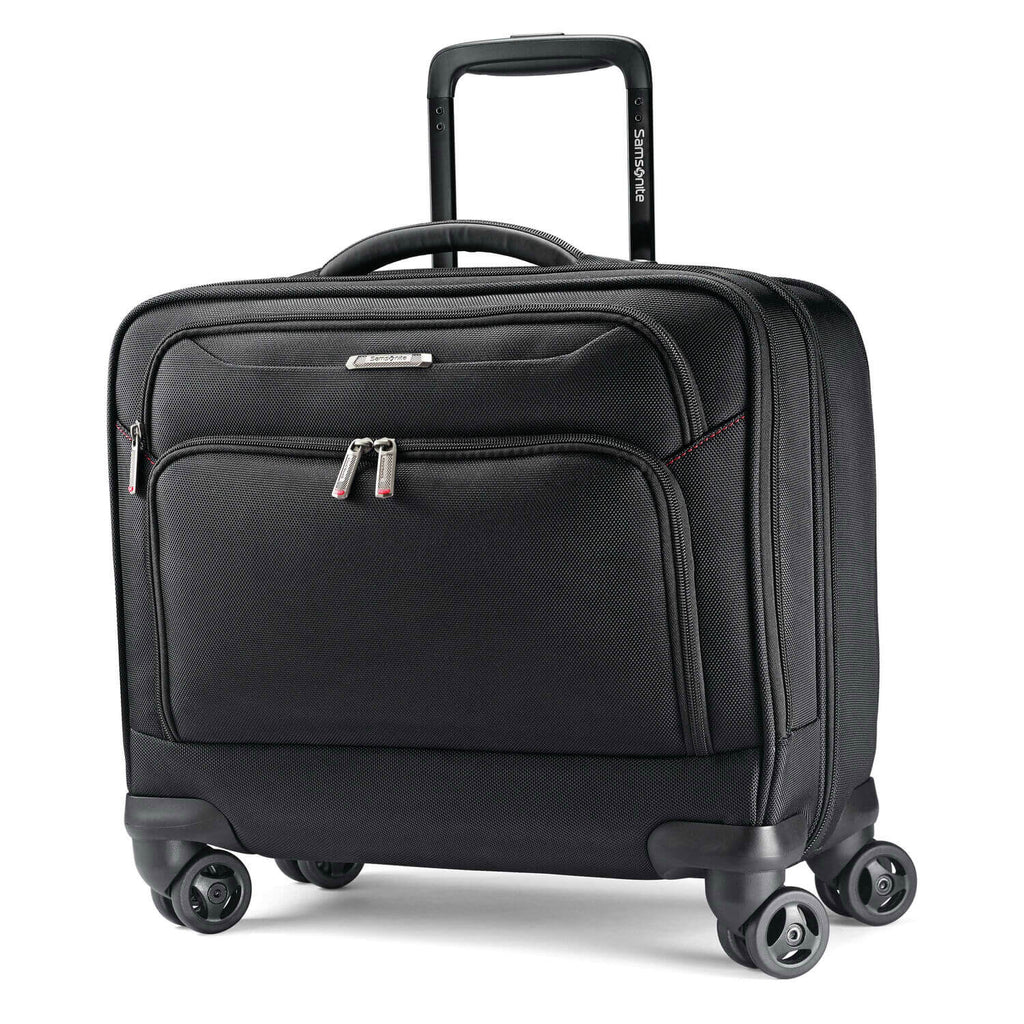 "Samsonite Xenon 3.0 Spinner Mobile Office (15.6"") in Black front view"