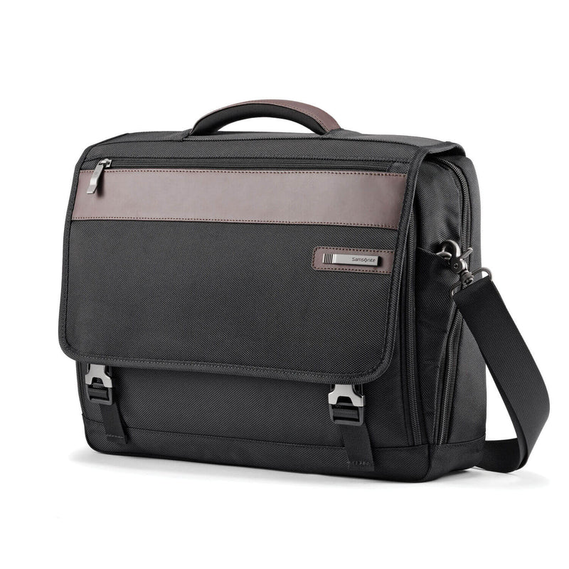 "Kombiz Flapover Briefcase (15.6"") - Forero's Bags and Luggage"