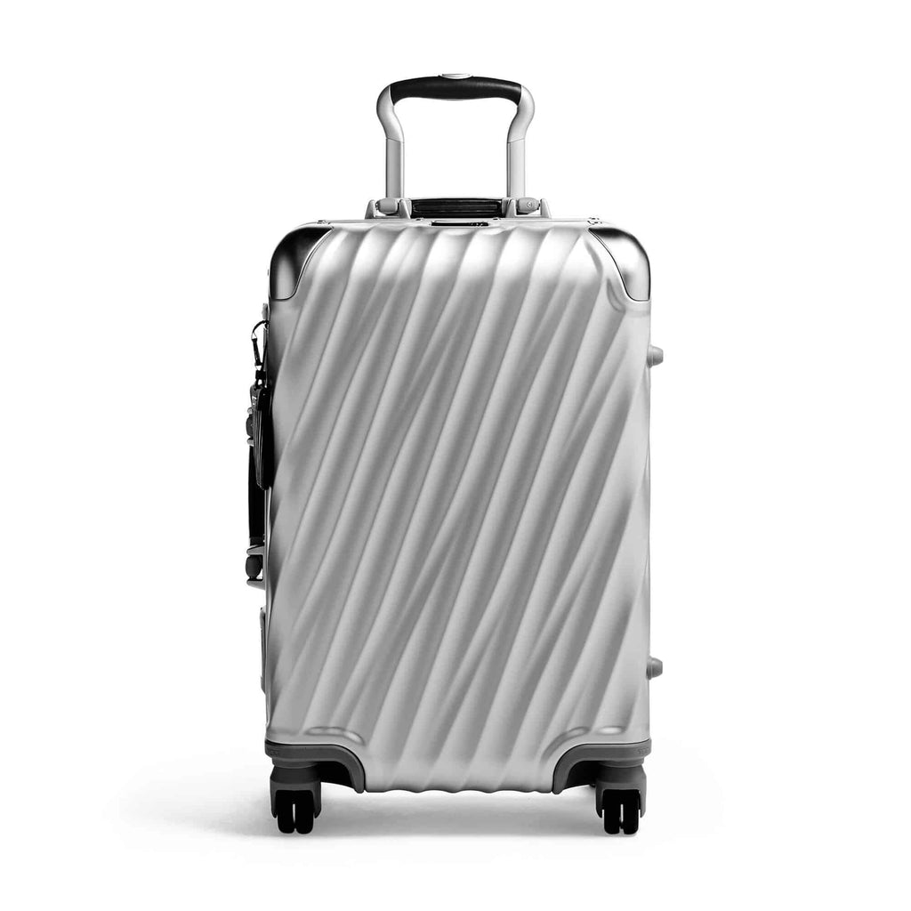 Tumi 98817 19 Degree Aluminum International Carry-On silver - front