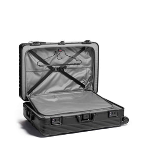 TUMI 19 Degree Aluminum Extended Trip Packing Case in Black inside view