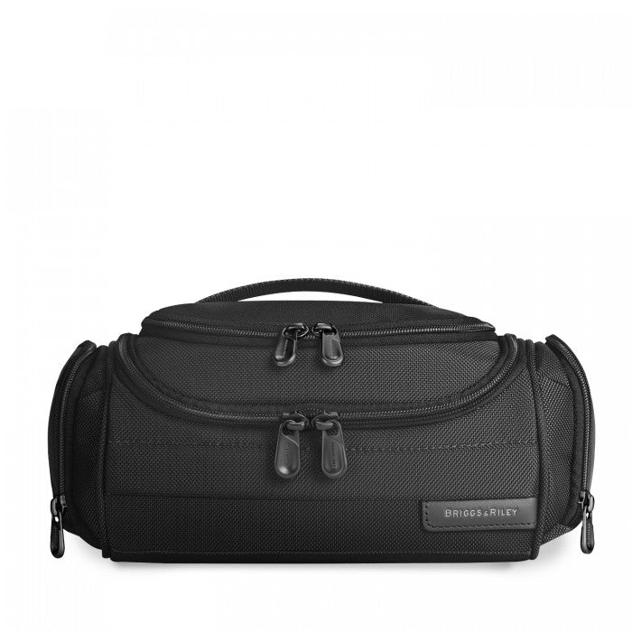 Briggs & Riley Baseline Executive Toiletry Kit in Black front view
