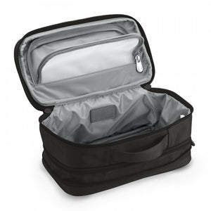 Briggs & Riley Baseline Expandable Toiletry Kit black - open