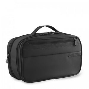 Briggs & Riley Baseline Expandable Toiletry Kit black - side