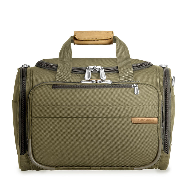 Briggs & Riley Baseline Cabin Duffle olive - front