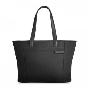 Briggs & Riley Baseline Large Shopping Tote black - front