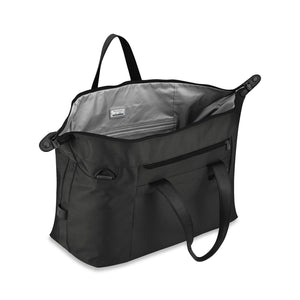Briggs & Riley Baseline Large Weekender black - open