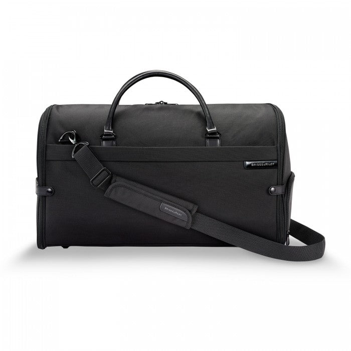 Briggs & Riley Baseline Suiter Duffle in Black front view