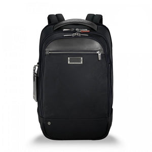 Briggs & Riley @work Medium Backpack in Black front view