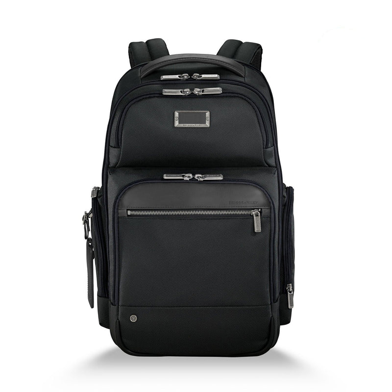 Briggs & Riley @work Medium Cargo Backpack black - front