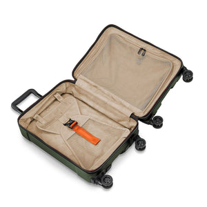 Briggs & Riley Torq Domestic Carry-On colour Hunter inside view