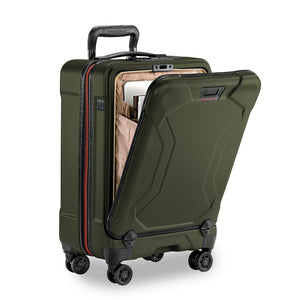 Briggs & Riley Torq Domestic Carry-On colour Hunter front pocket