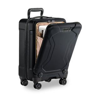 Briggs & Riley Torq International Carry-On colour Stealth front pocket