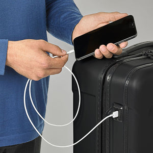 Briggs & Riley Torq Domestic Carry-On colour Stealth USB port