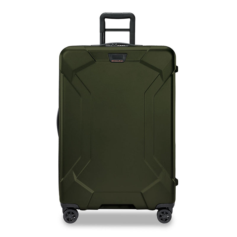 Briggs & Riley Torq Large Spinner in colour Hunter - Forero's Bags and Luggage Vancouver Richmond