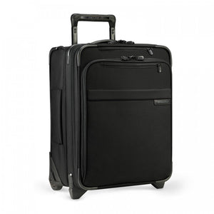 Briggs & Riley Baseline Commuter Expandable Upright in Black side view