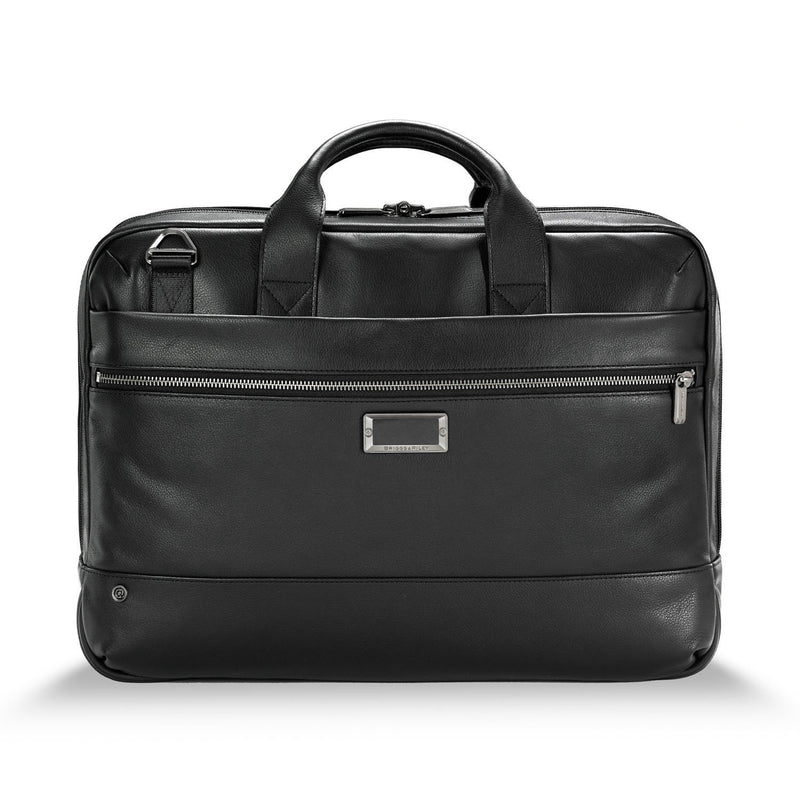 @work Leather Medium Brief - Forero's Bags and Luggage