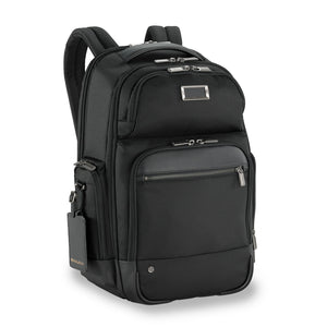 Briggs & Riley @work Medium Cargo Backpack black - side