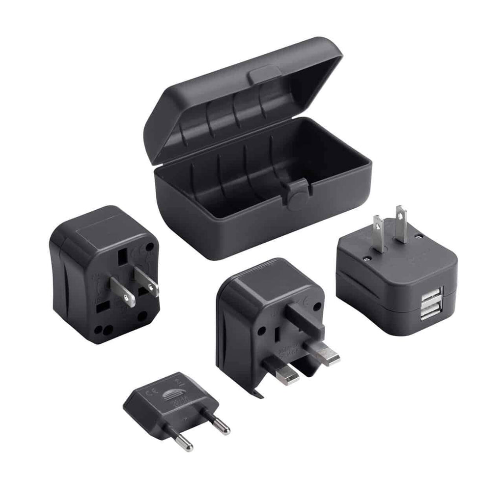 Lewis N Clark EK135 Global Adapter Plug Set with USB Charger Forero's Bags and Luggage Vancouver Richmond