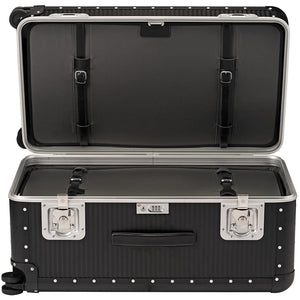 FPM Bank Trunk in Caviar Black inside view