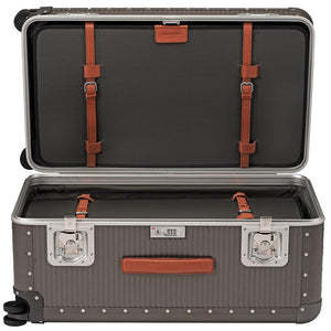 FPM Bank Trunk in Steel Grey inside view