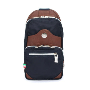Orobianco Giacomix Sling Bag in Blu Scuro - Forero's Vancouver Richmond
