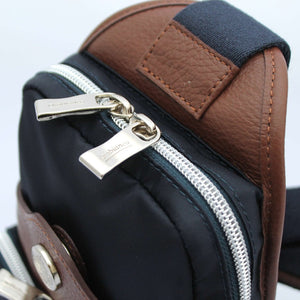 Orobianco Giacomix Sling Bag in colour Blu Scuro - Forero's Bags and Luggage Vancouver Richmond