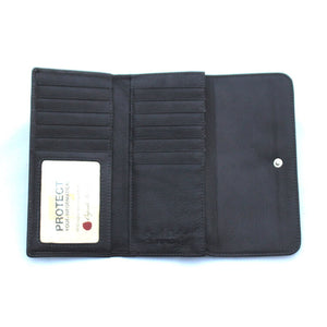 Osgoode Marley Card Case Leather Wallet in Storm - Forero's Vancouver Richmond