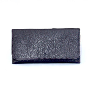 Osgoode Marley Card Case Leather Wallet in Plum - Forero's Vancouver Richmond