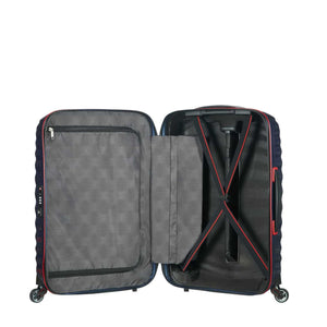 Samsonite Lite-Shock Sport Medium in Nautical Blue inside view
