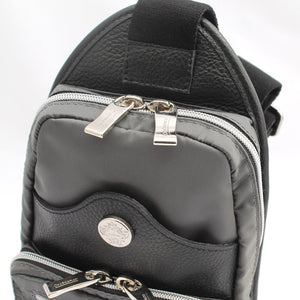 Orobianco Giacomix Sling Bag in colour Grigio Scuro - Forero's Bags and Luggage Vancouver Richmond