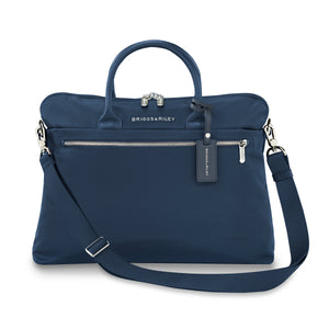 Briggs & Riley Rhapsody Slim Business in Navy front view