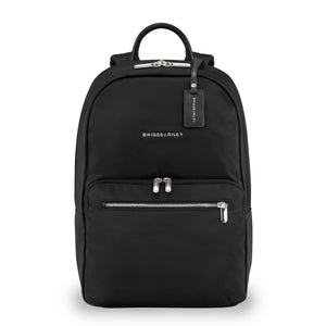 Briggs & Riley Rhapsody Women's Essential Backpack in Black front view