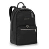Briggs & Riley Rhapsody Women's Essential Backpack in Black side view
