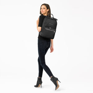 Briggs & Riley Rhapsody Women's Essential Backpack in Black on model