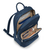 Briggs & Riley Rhapsody Women's Essential Backpack in Navy inside view