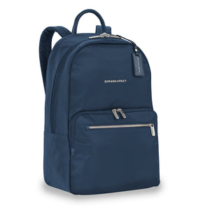 Briggs & Riley Rhapsody Women's Essential Backpack in Navy side view