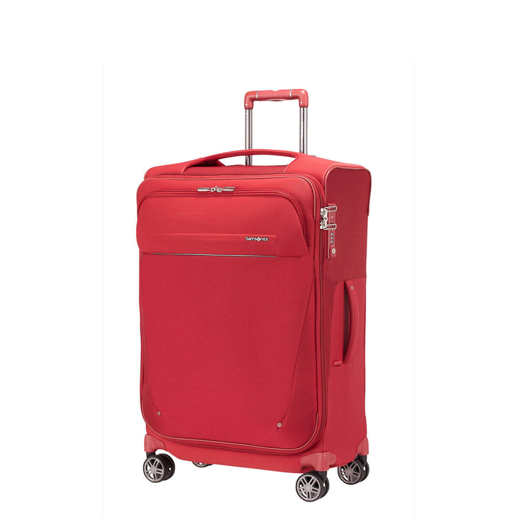 Samsonite B-Lite Icon Spinner Medium Expandable in colour Red - Forero's Vancouver Richmond